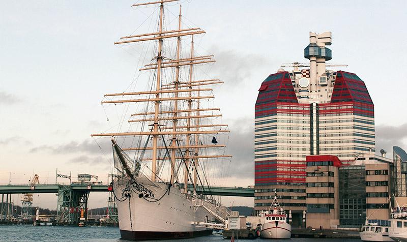 Barken Viking i Göteborg