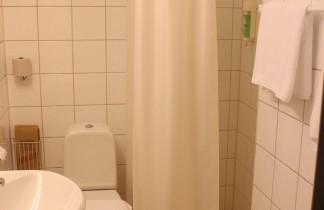 Badrum i enkelrum