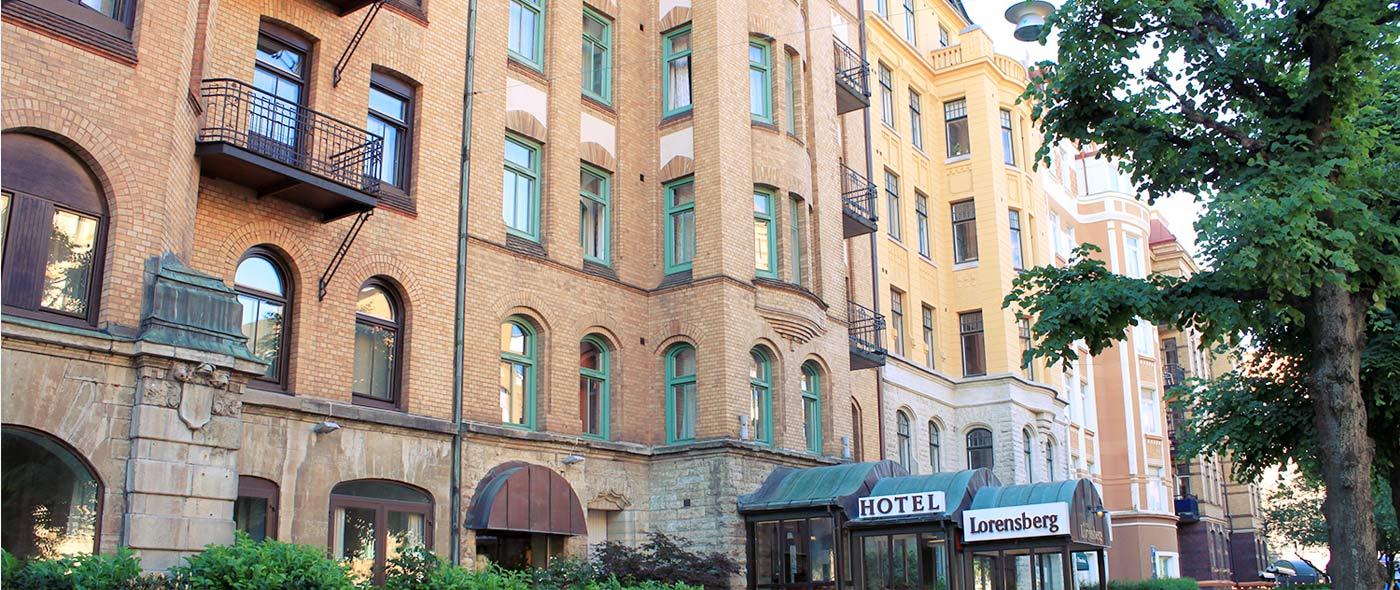 Sentralt beliggende hotell i Göteborg