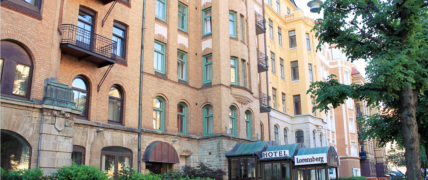 Hotell i centrala Göteborg